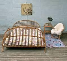 rattan schlafzimmer schlafzimmer ideen bett aus rattan und stuhl living