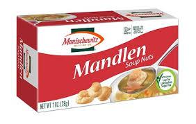 manischewitz borscht mandlen soup nuts 1 oz of 12