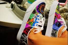 Decorate Shoes Shoes Vans Vans Vans Printed Vans Vans Neon Vans Wheretoget