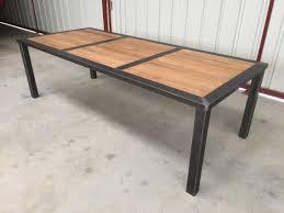 Table Avec Rallonge Pas Cher by Table Salle A Manger Bois Et Metal Petite Table A Manger Pas Cher