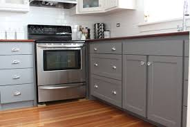 Painted Gray Kitchen Cabinets Chalk Paint Kitchen Cabinets Grey The Outstanding Chalk Paint