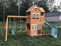 Big Backyard Savannah Playhouse by Blog Swing Set Installation Ma Ct Ri Nh Me