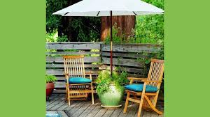 outdoor table umbrella and stand diy planter patio umbrella stand patio umbrellas planters and patios