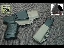 Most Comfortable Concealed Holster The Best Appendix Carry Holster For The Glock Pistols Youtube