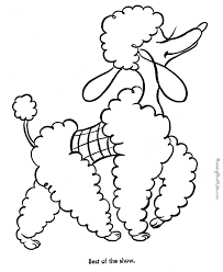 dog coloring pictures kids