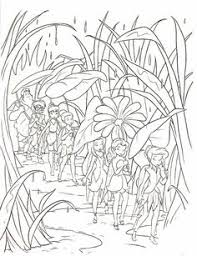fairy tinkerbell coloring book printable children