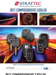2011 comprehensive catalog key vehicle industry automobiles