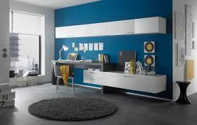 Weisser Hochglanz Schreibtisch Wohnwand Mit Schreibtisch Hochglanz Lackiert Fabrizio Ebay