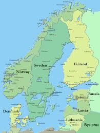 map of europe scandinavia maps europe map of scandinavia countries region