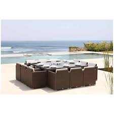 outdoor table that seats 12 pacific large square table 200x200 outdoor dining holloways