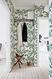 Room Of The Week A Whimsical Wallpapered Hallway Coco Kelley