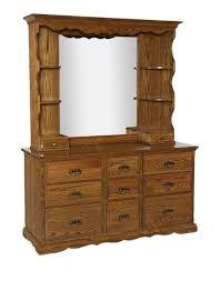 Metal Bedroom Dresser Vintage Look Bedroom Makeup Dresser With Hutch And Mirror Plus