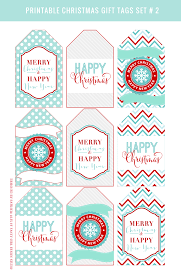 day 2 printable christmas gift tags fancy designs