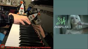 Chandelier Covers Sleeves Sia Chandelier Piano Cover By Amosdoll Youtube