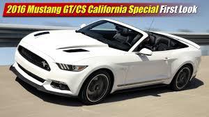 california mustang 2016 ford mustang gt cs california special look