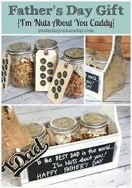 diy s day gifts for him diy s day gift idea an i m nuts about you caddy a