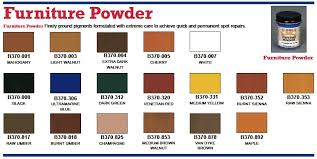 color furniture touch up powders page 1 of 1