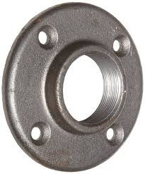 3 Floor Flange by Anvil 8700163952 Malleable Iron Pipe Fitting Floor Flange 1