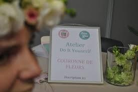 salon du mariage rouen atelier diy au salon du mariage de rouen château du saussay le