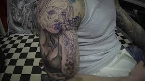 mechanic tattoo drawing mechanical tattoos angel youtube