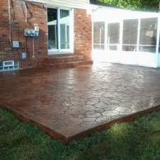 Sted Concrete Patio Design Ideas Decor Tips Creative Concrete Patio Ideas For Patio Style