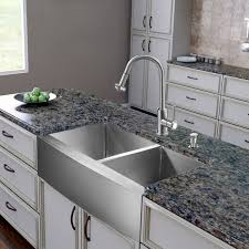 kitchen sink and faucet choosing the right kitchen sink faucets 2planakitchen