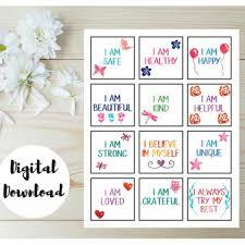 25 positive affirmations kids ideas