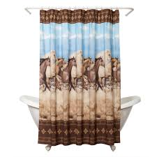 decorating exciting curved curtain rod with white shower curtains