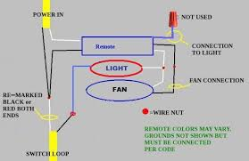wiring a ceiling fan with light and remote integralbook com