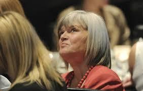 Cabinet Ministers Alberta Former Alberta Cabinet Minister Iris Evans Looks On As Former U S