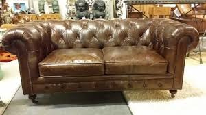 Vintage Chesterfield Leather Sofa Brown Leather Chesterfield Sofa Vintage Leather