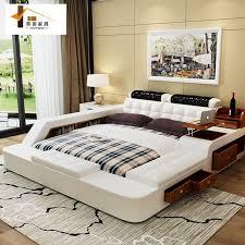 schlafzimmer bett schlafzimmer möbel china leder bett tatami bett minimalistischen