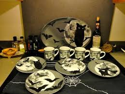 halloween plate set manual ww halloween ceramic mini plate set of
