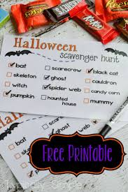 Free Printable Halloween Invitations Kids Best 25 Halloween Scavenger Hunt Ideas On Pinterest Scavenger