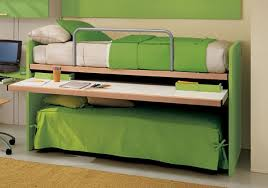 letto a con scrivania cameretta con doppio letto e scrittoio estraibile 57 cia