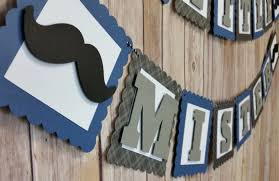 little man mustache baby shower mustache baby shower banner little mister mustache boy