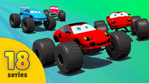 videos monster trucks good vs evil evil monster trucks vs good monster trucks racing