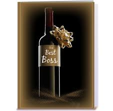 wine bottle bow s day wine bottle with bow greeting card by