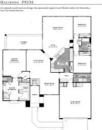 sun city grand floorplans retirement communities arizona hacienda