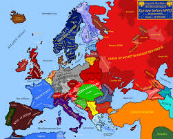 Germany Map Europe by