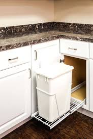 diy pull out trash can cabinet pull out trash bin sizes roll out