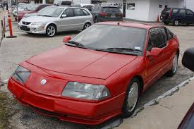 renault alpine gta shifting gears random car wednesday 1988 alpine gta turbo