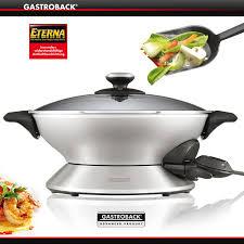 gastroback design advanced pro gastroback design wok advanced pro cookfunky