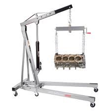 Otc Floor Crane by Engine Hoist Ebay