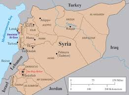 Palmyra Syria Map by How Assad Is Winning By Charles Glass The New York Review Of Books