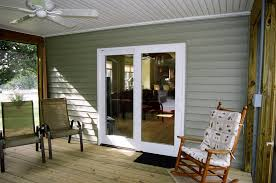 inside of the screened porch