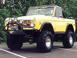 1966 1977 ford bronco prerunner front bumper bumper with lig