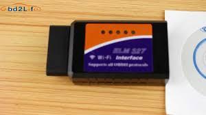 wifi elm327 obdii interface for iphone ipad ipod youtube
