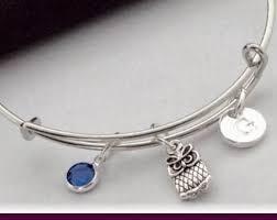 Personalized Bangle Bracelets Bangle Charm Bracelets Urban City Treasures