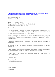 brilliant ideas of sample proposal letter for job promotion for